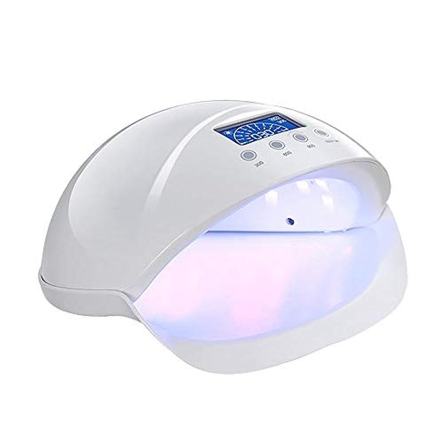 乗算窒素密度釘のドライヤー - 自動赤外線センサー、二重光源のLEDランプのゲルのドライヤーのマニキュアが付いている紫外線携帯用LEDの釘ランプ