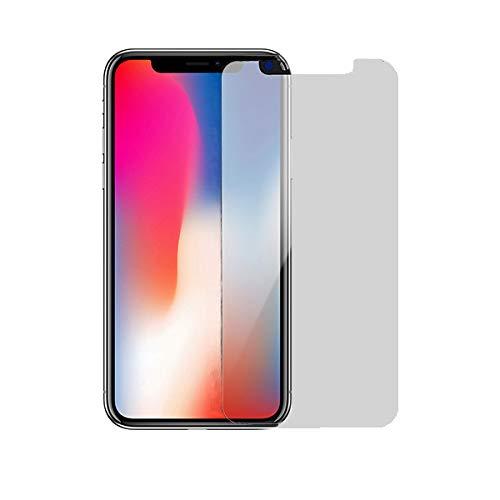 iPhone X ガラスフィルム覗き見防止 iPhone XS 覗き見防止ガラスフィルム 左右180...