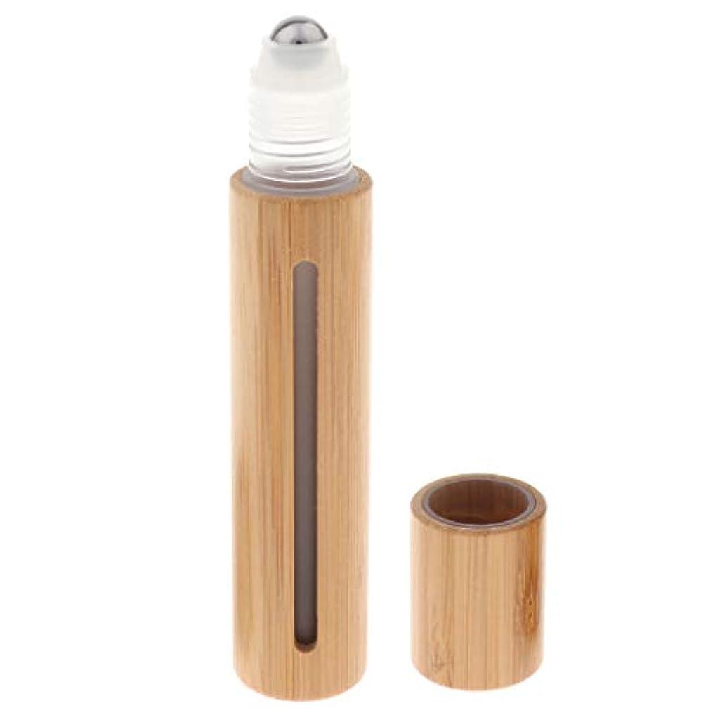 サッカーホールド勇気のあるchiwanji ロールオンボトル 香水 アトマイザー ロールオン 詰め替え容器 アロマオイル精油小分け用 15ml 2種類 - スチールビーズヘッド
