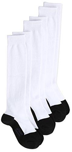 (アシックス)asics 野球 ジュニア 3Pソックス BAE52J 0190 ホワイト/ブラック 24