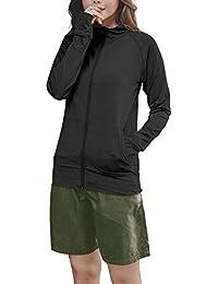 [グロウンチャーム] ラッシュガード レディース セット 長袖 体型カバー 水着 4点セット 無地 ra0001