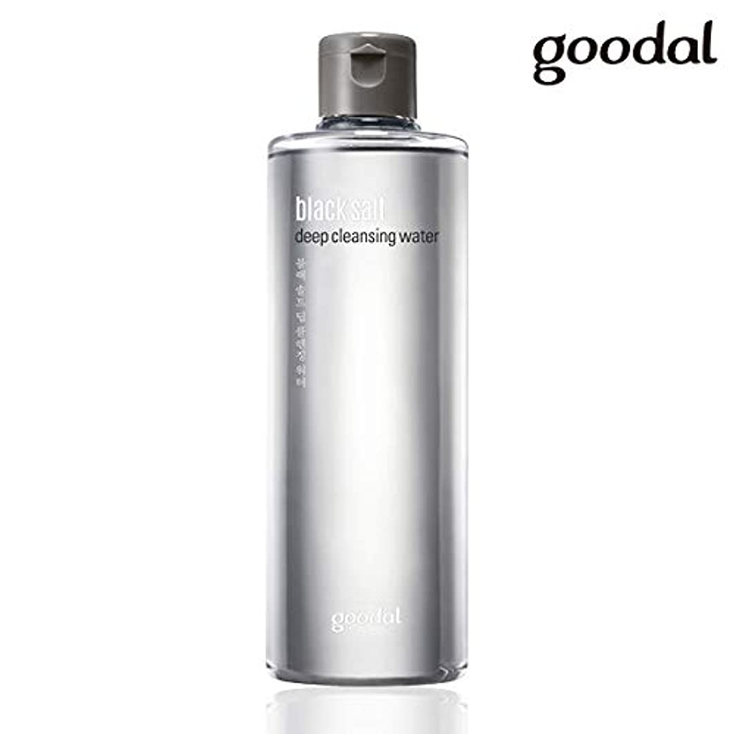 見る志す付属品グーダル ブラックソルトディープクレンジングウォーター goodal black salt deep cleansing water 300ml [並行輸入品]