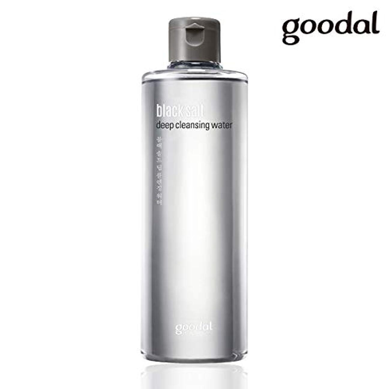 式達成するブルグーダル ブラックソルトディープクレンジングウォーター goodal black salt deep cleansing water 300ml [並行輸入品]