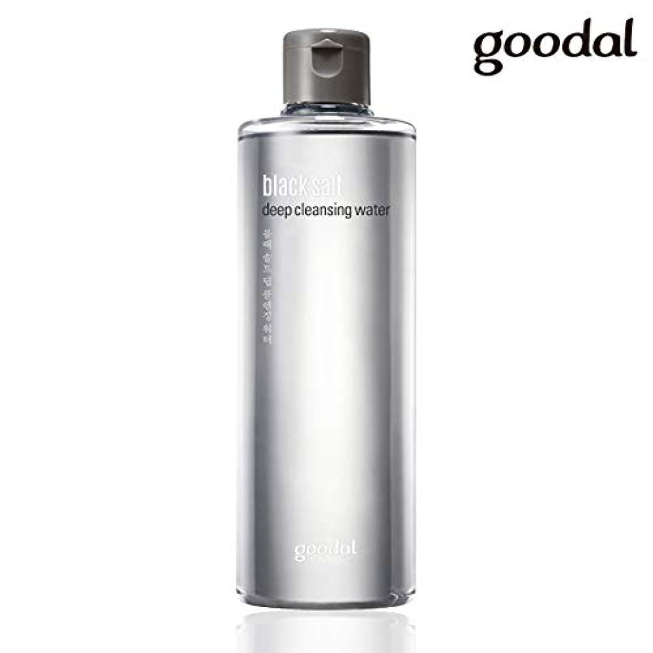 扱いやすい期間森林グーダル ブラックソルトディープクレンジングウォーター goodal black salt deep cleansing water 300ml [並行輸入品]