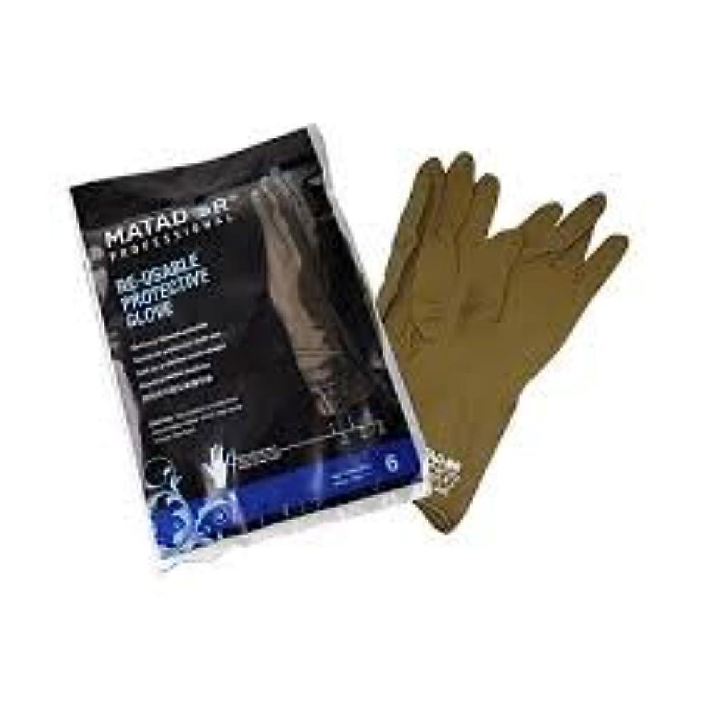 アスレチックにじみ出る熟したマタドールゴム手袋 6.0吋 【10個セット】