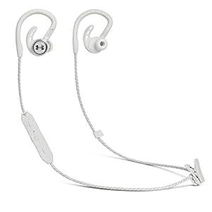 JBL UA SPORT WIRELESS PIVOT Bluetoothイヤホン 耳掛けデザイン/IPX7防水/アンダーアーマー ホワイト UAJBLPIVOTWHT【国内正規品/メーカー1年保証付き】