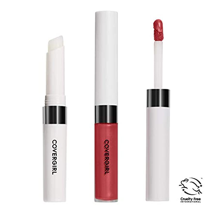 ドライブ階層岩COVERGIRL Outlast All-Day Lip Color - Red Hot 517 (並行輸入品)