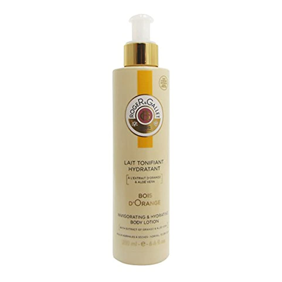 拡散する偽ペフRoger Gallet Bois D'orange Toning Moisturizing Milk 200ml [並行輸入品]