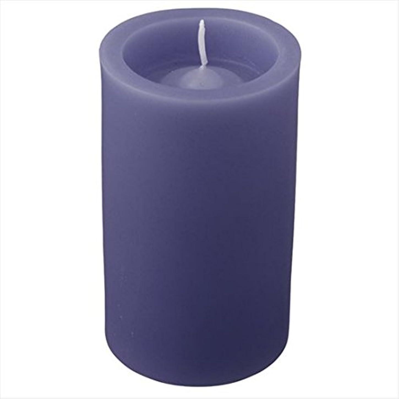 効率落ち着く休みカメヤマキャンドル(kameyama candle) ロイヤルラウンド50 「 ダークブルー 」