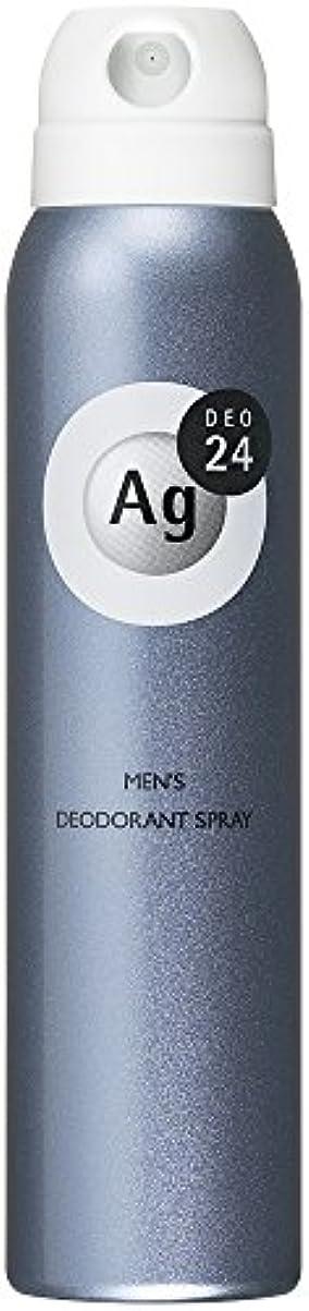 楽しい自発的毎月エージーデオ24 メンズ デオドラントスプレー 無香料 100g (医薬部外品)
