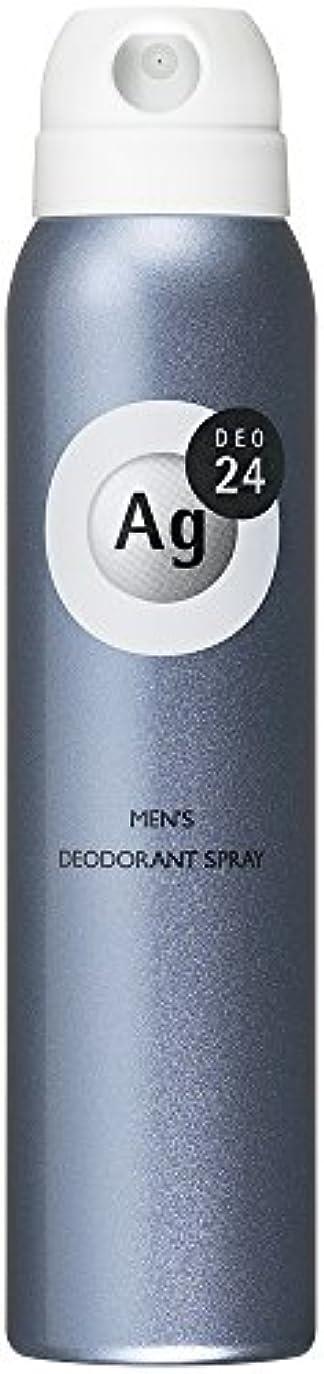 湿度ボット彫刻エージーデオ24 メンズ デオドラントスプレー 無香料 100g (医薬部外品)
