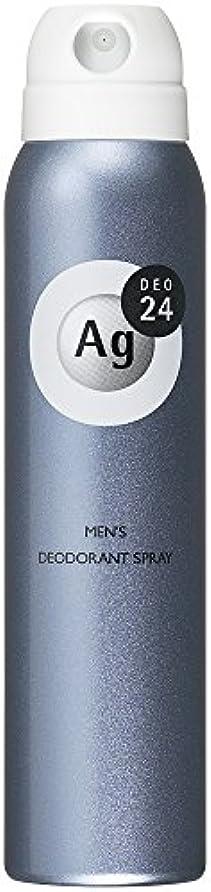 アレキサンダーグラハムベル繰り返しカルシウムエージーデオ24 メンズ デオドラントスプレー 無香料 100g (医薬部外品)