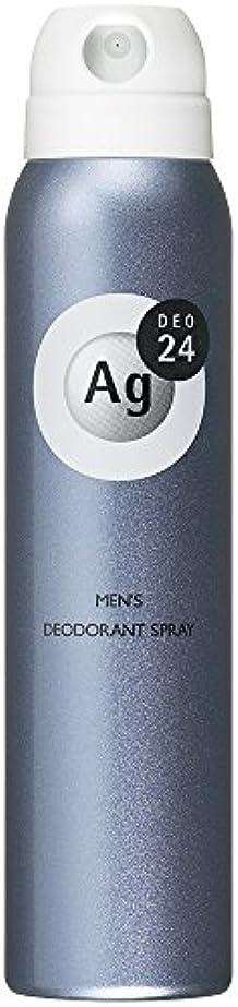 ダブルマット有用エージーデオ24 メンズ デオドラントスプレー 無香料 100g (医薬部外品)