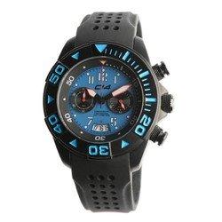 時計 Carbon 14 メンズ W1.4 Water 100M Chronograph Blue and Black Dial Watch [並行輸入品]