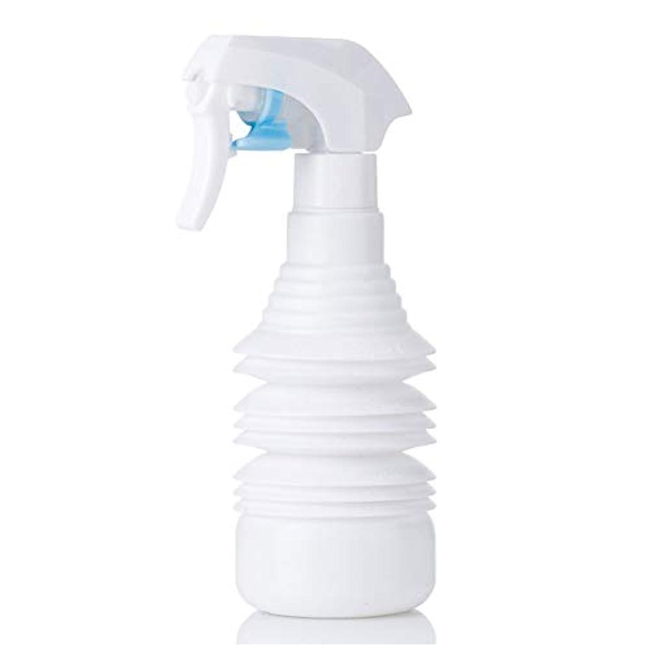 判定惨めな水分ヘアスタイリストヘアスプレー気化器用カーリーヘアスプレーボトルアトマイザー1100ml空スプレー用伸縮式超微細スプレーボトル-ブラック,白