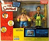 Playmates - The Simpsons - World of Springfield Diorama (Playset) - Kwik-E-Mart w/exclusive Apu and Grampa figures and