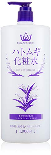 【Amazon.co.jp限定】SKIN AUTHORITY ハトムギ化粧水 1000ml
