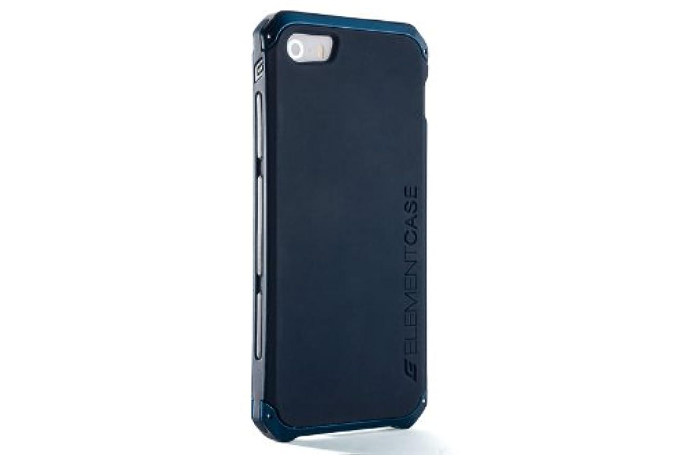 南方のキッチン泥だらけ【日本正規代理店品】ELEMENTCASE SOLACE CHROMA iPhone5/5s/SE用ケース Blue ブルー304526