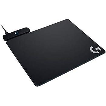 Logicool G ゲーミングマウスパット G-PMP-001 ブラック ハート クロス マウスパット同梱 G502WL/G-PPD-002WL/G903h/G903/G703h/G703d ワイヤレス充電対応 POWERPLAY 国内正規品 2年間メーカー保証