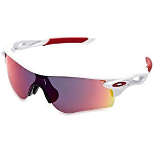 (オークリー) OAKLEY Radarlock Path OO9206-10 Polished White w/+Red Irid Free