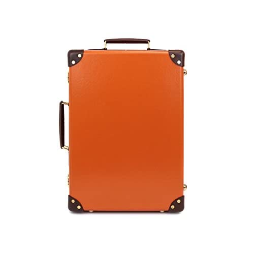 GLOBE TROTTER グローブトロッター Orange/Tan センテナリー 18インチ [並行輸入品]