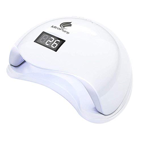 MiroPure UV LEDネイルドライヤー 赤外線検知 ...