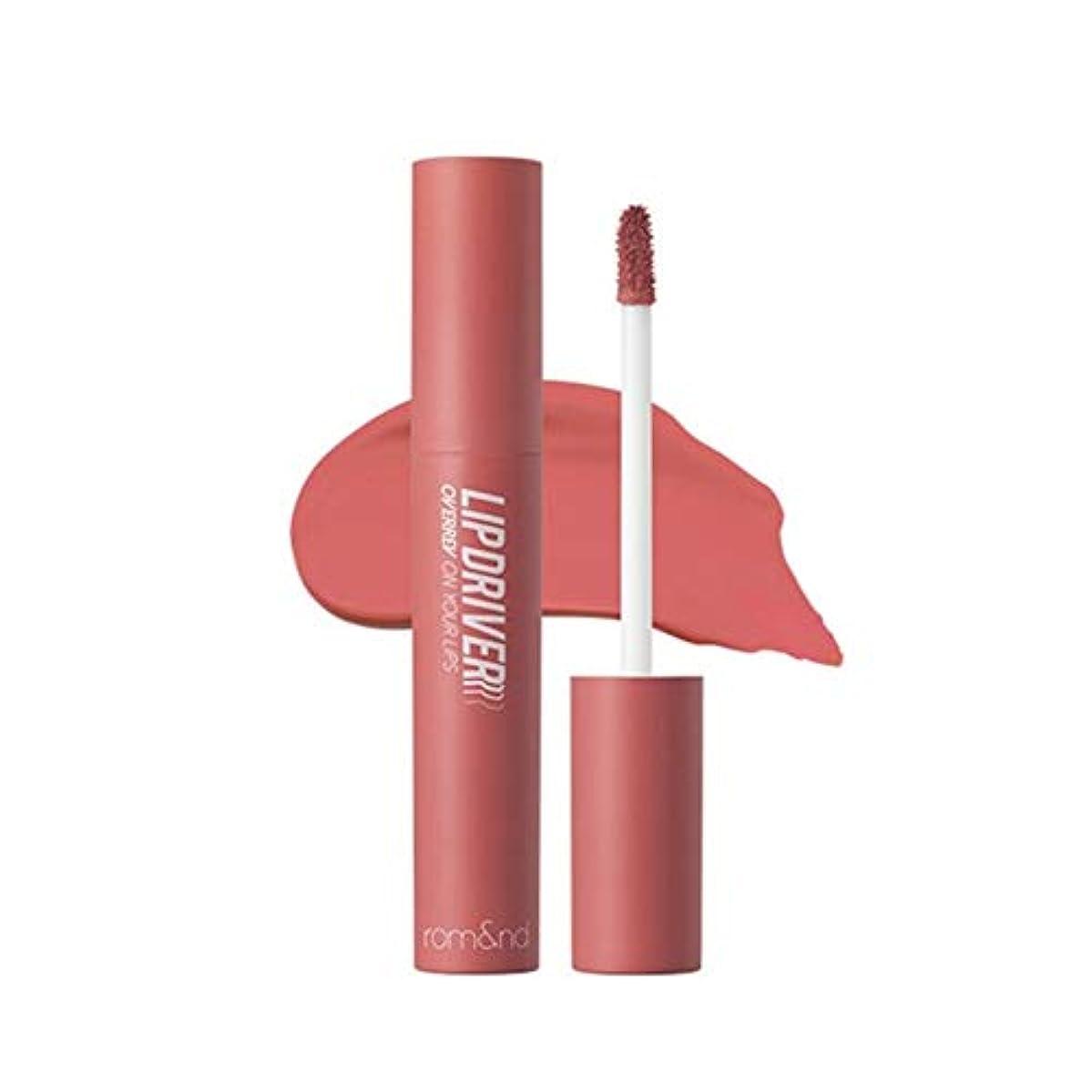 もちろんお願いします二層ローム?アンド?リップドライバリップスティック5カラー韓国コスメ、Rom&nd Lipdriver Lipstick 5 Colors Korean Cosmetics [並行輸入品] (#05. overrev)