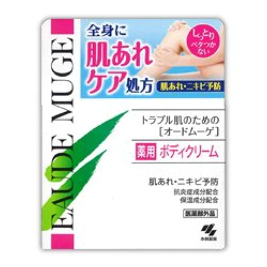 罪悪感悲惨な費やす【小林製薬】オードムーゲ 薬用ボディクリーム 160g(医薬部外品)