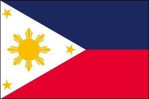 世界の国旗 フィリピン国旗 90×150cm