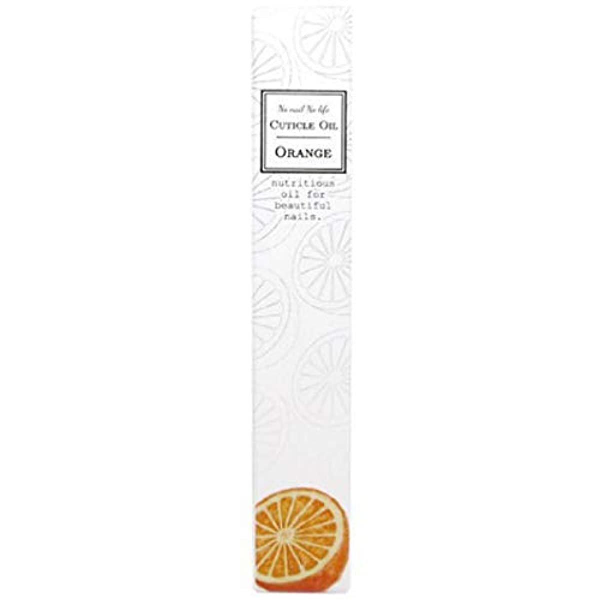 取り扱いミット素朴なネイルオイル キューティクルオイル ペンタイプ 1本 (オレンジ)