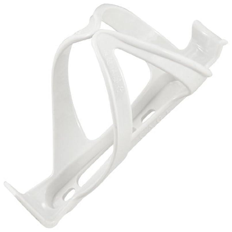 特に水罪サイクリングスポーツ4 - ホワイト6cmのプラスチック製の自転車水ボトルケージホルダー
