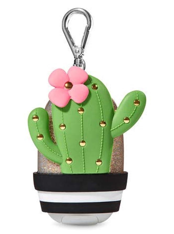 セール側溝マウンド【Bath&Body Works/バス&ボディワークス】 抗菌ハンドジェルホルダー カクタス Pocketbac Holder Cactus [並行輸入品]