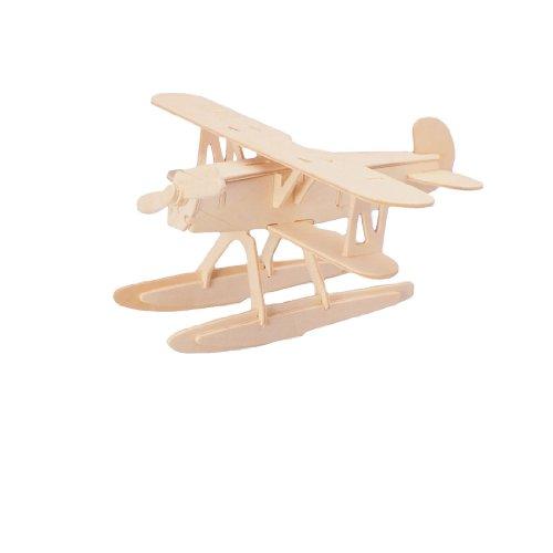 uxcell HE 51飛行機形モデル 3Dクラフト組み立て...