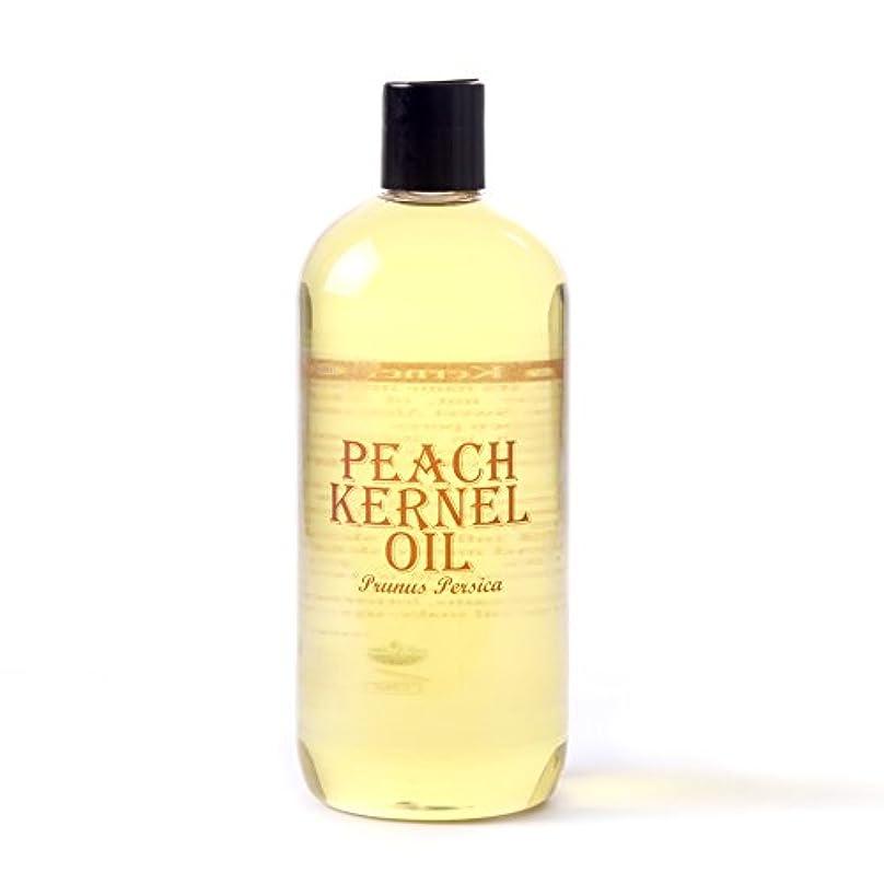 スリップシューズロッジ準備するMystic Moments   Peach Kernel Carrier Oil - 500ml - 100% Pure