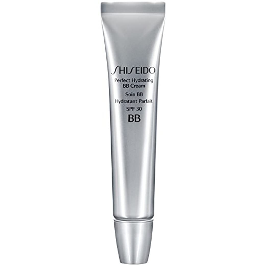黄ばむ速い干ばつ[Shiseido ] 資生堂完璧な水和BbクリームSpf 30 30ミリリットルの暗いです - Shiseido Perfect Hydrating BB Cream SPF 30 30ml Dark [並行輸入品]