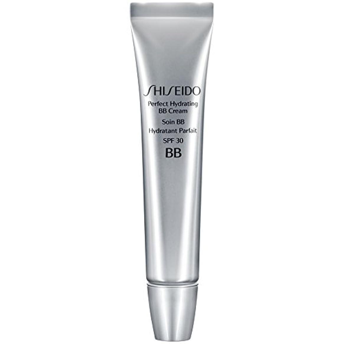定刻巻き取りポスト印象派[Shiseido ] 資生堂完璧な水和BbクリームSpf 30 30ミリリットルの暗いです - Shiseido Perfect Hydrating BB Cream SPF 30 30ml Dark [並行輸入品]