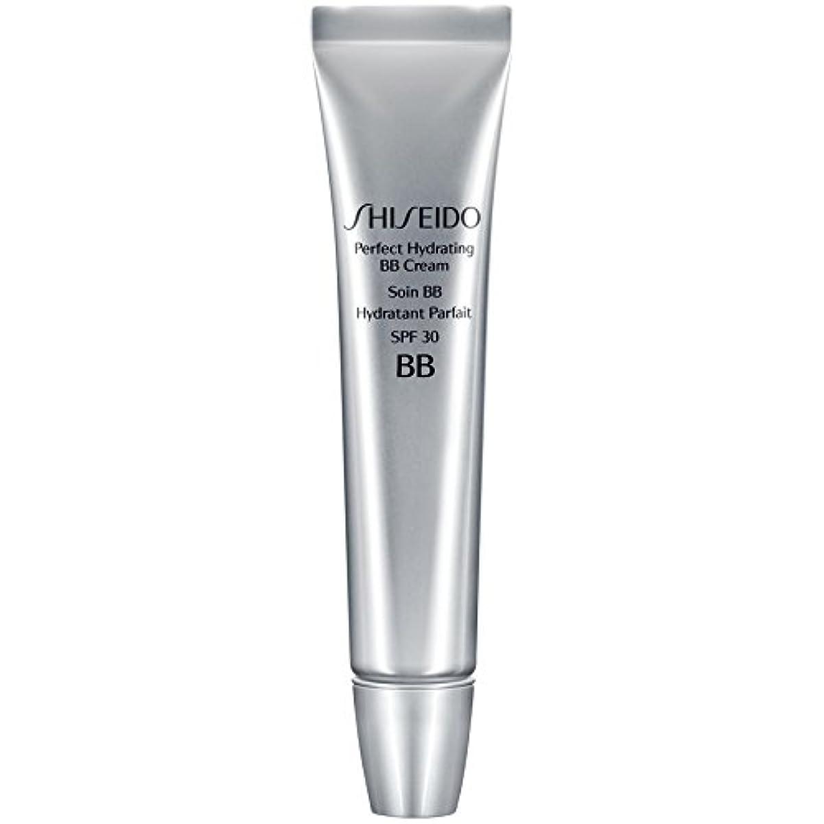 風邪をひく初期じゃない[Shiseido ] 資生堂完璧な水和BbクリームSpf 30 30ミリリットルの暗いです - Shiseido Perfect Hydrating BB Cream SPF 30 30ml Dark [並行輸入品]