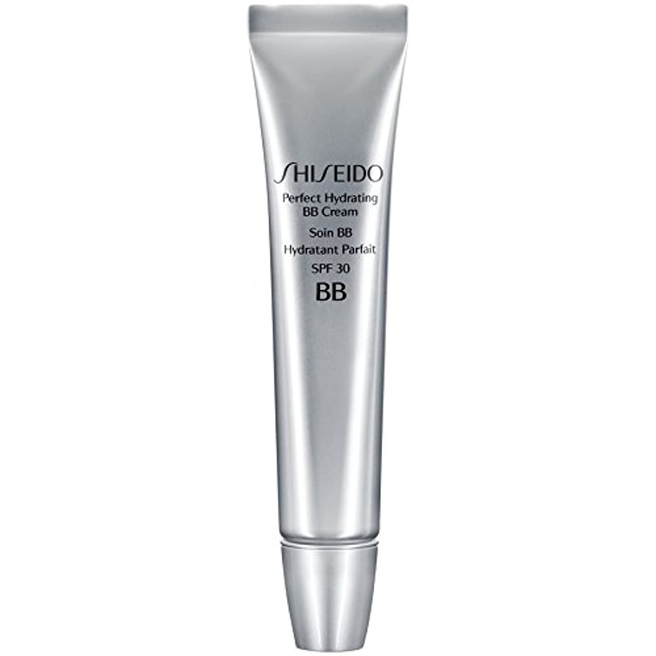 監査参照飢[Shiseido ] 資生堂完璧な水和BbクリームSpf 30 30ミリリットルの暗いです - Shiseido Perfect Hydrating BB Cream SPF 30 30ml Dark [並行輸入品]