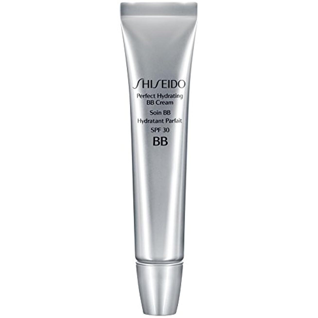 構想するモナリザ効率的[Shiseido ] 資生堂完璧な水和BbクリームSpf 30 30ミリリットルの暗いです - Shiseido Perfect Hydrating BB Cream SPF 30 30ml Dark [並行輸入品]