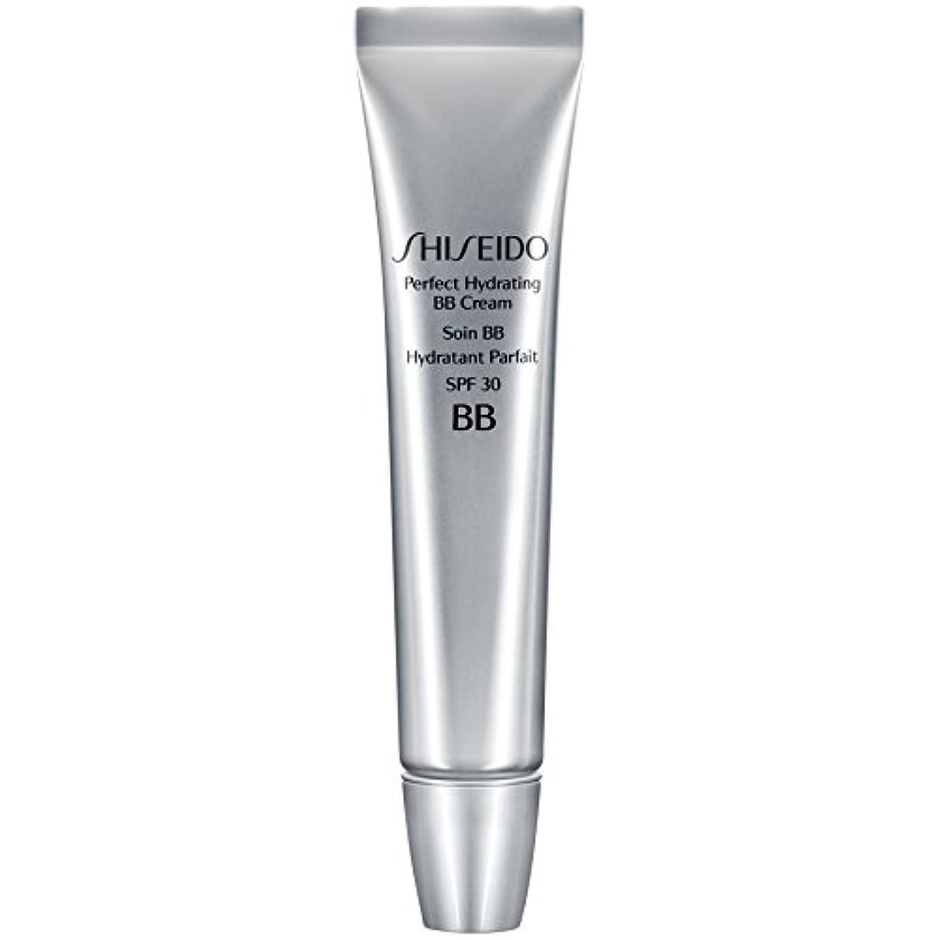 通信する倍増トーナメント[Shiseido ] 資生堂完璧な水和BbクリームSpf 30 30ミリリットルの暗いです - Shiseido Perfect Hydrating BB Cream SPF 30 30ml Dark [並行輸入品]