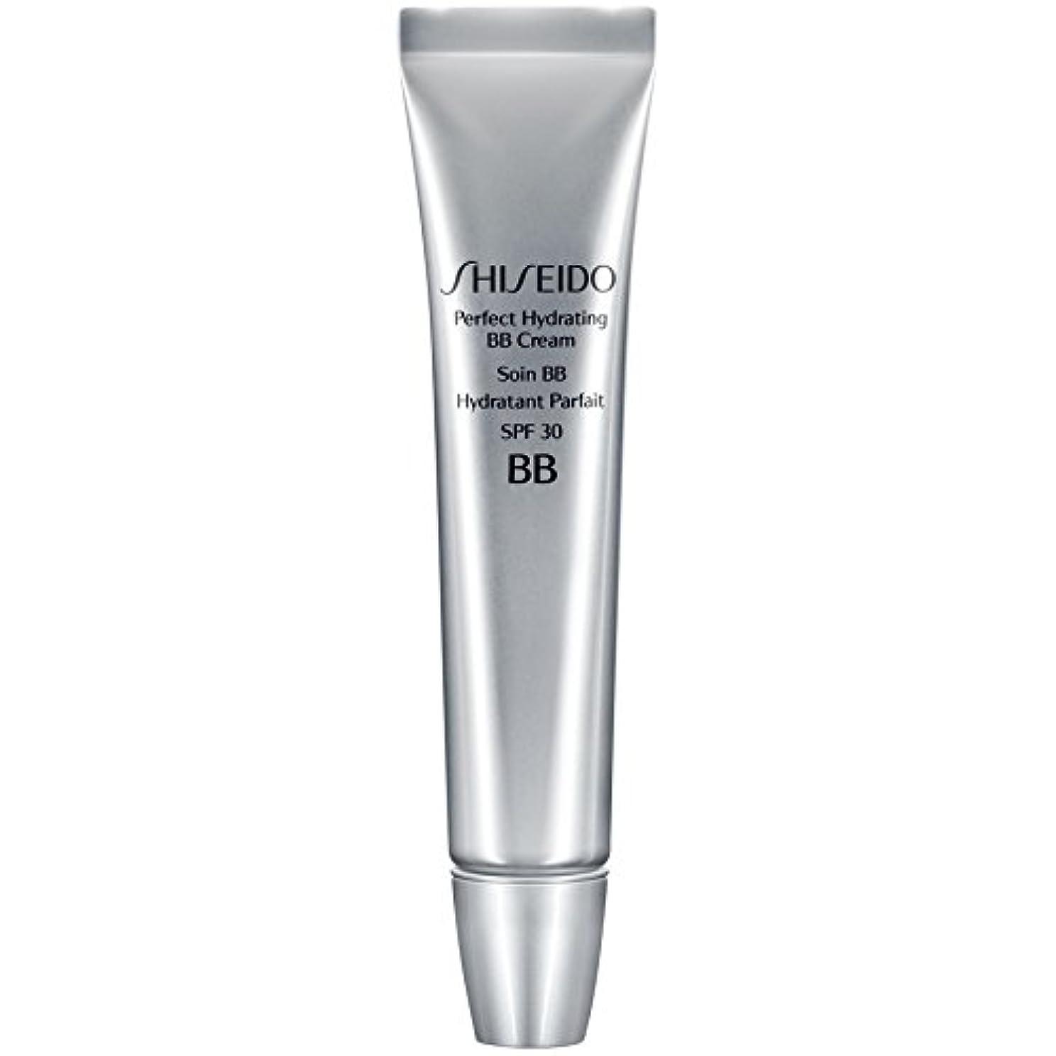 家族無声でアプト[Shiseido ] 資生堂完璧な水和BbクリームSpf 30 30ミリリットルの暗いです - Shiseido Perfect Hydrating BB Cream SPF 30 30ml Dark [並行輸入品]