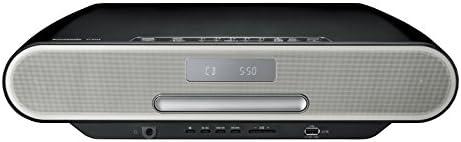 パナソニック コンパクトステレオシステム ハイレゾ音源対応 Bluetooth対応 ブラック SC-RS55-K
