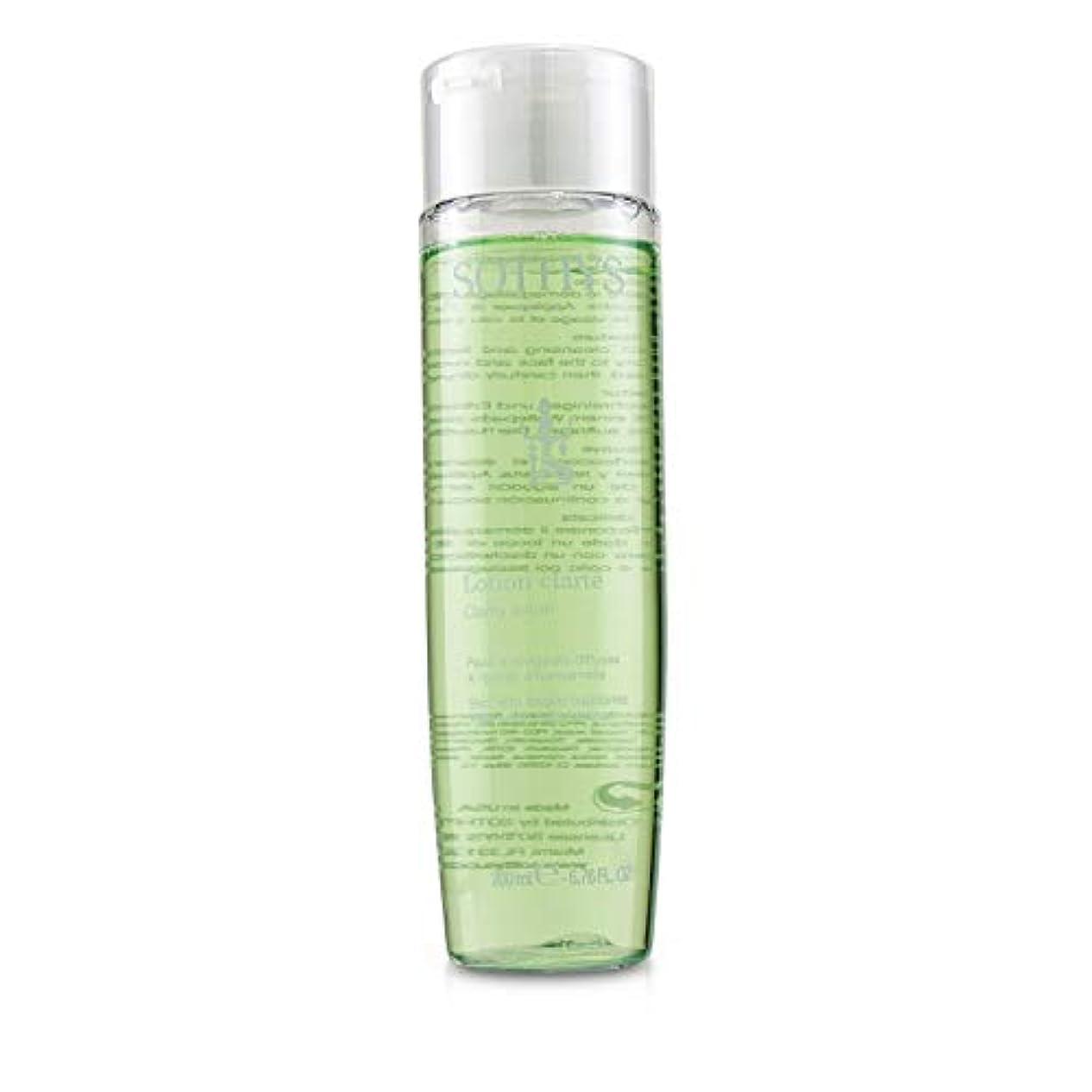 コンパス二溶けたSothys Clarity Lotion - For Skin With Fragile Capillaries, With Witch Hazel Extract 200ml/6.76oz並行輸入品