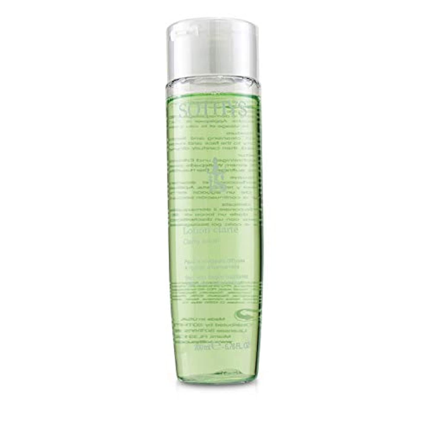 ポータルリレー変更Sothys Clarity Lotion - For Skin With Fragile Capillaries, With Witch Hazel Extract 200ml/6.76oz並行輸入品