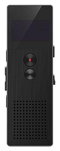 REMAX ボイスレコーダー 高品質アルミボディ採用 内蔵8GBメモリ内蔵  RP1-BK