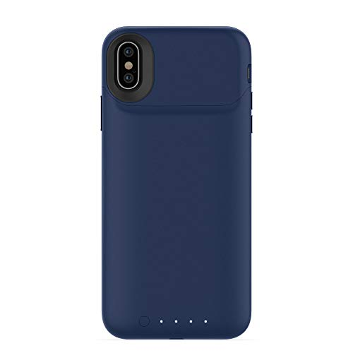 mophie juice pack air for iPhone X ブルー Qiワイヤレスバッテリーケース MOP-PH-000161