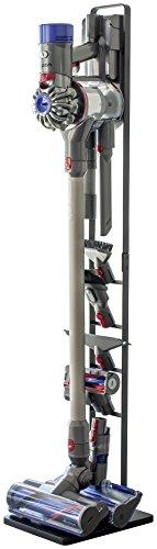 山崎実業 コードレスクリーナースタンド タワー V10 V8 V7 V6 シリーズ対応 ブラック 約22X29X127cm tower 3541