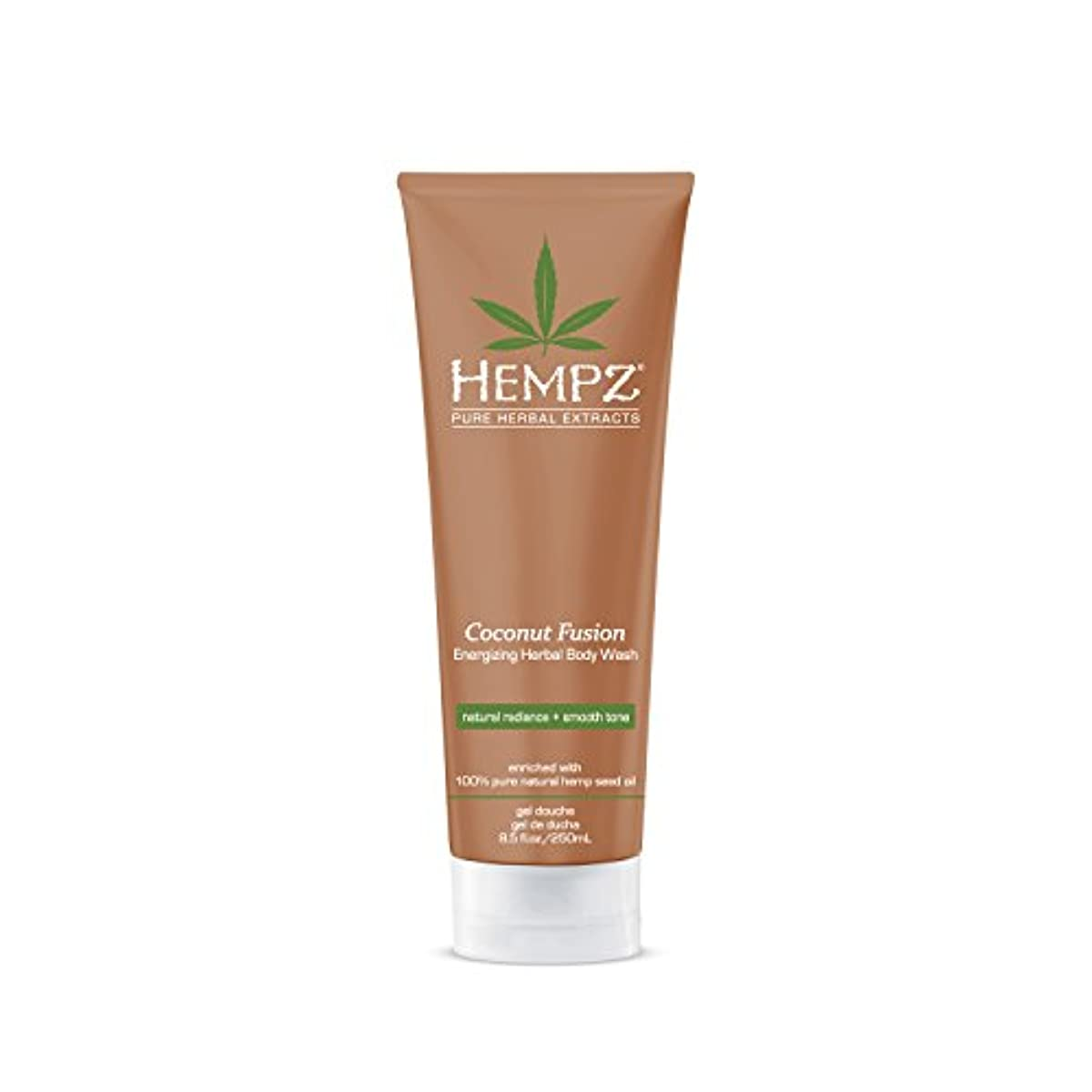 ピンチ故障玉by Hempz HERBAL BODY WASH-COCONUT FUSION 8.5 OZ by HEMPZ