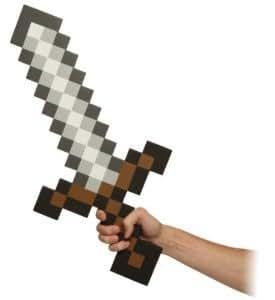 Think Geek Minecraft Sword Foam Weapon アクションフィギュア 人形 Accessory フィギュア おもちゃ 人形 (並行輸入)
