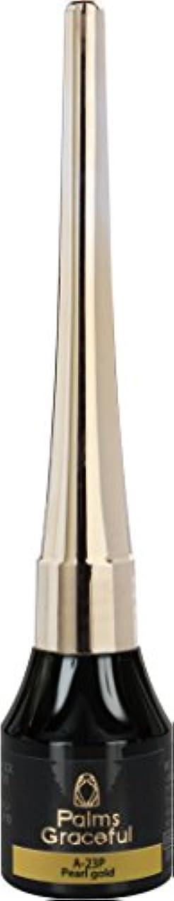 行割合不規則なPalms Graceful アートジェル A-23P パールゴールド